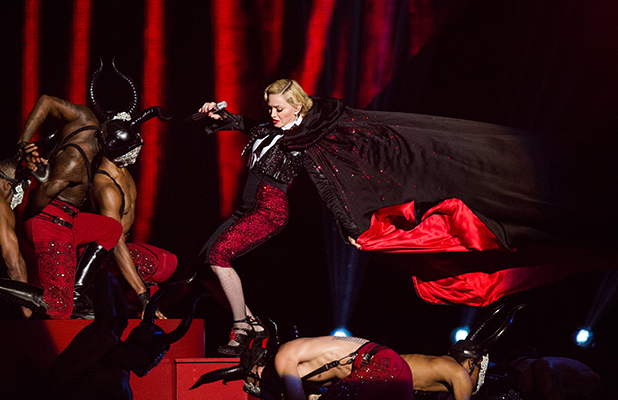 How far is too far in PR? – Madonna at the Brits2015