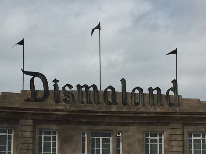 It's anything but Dismaland!