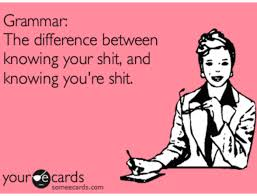 Grammar shit