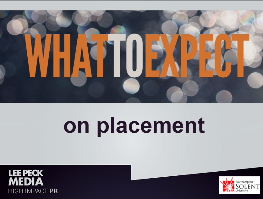 What to expect on placement
