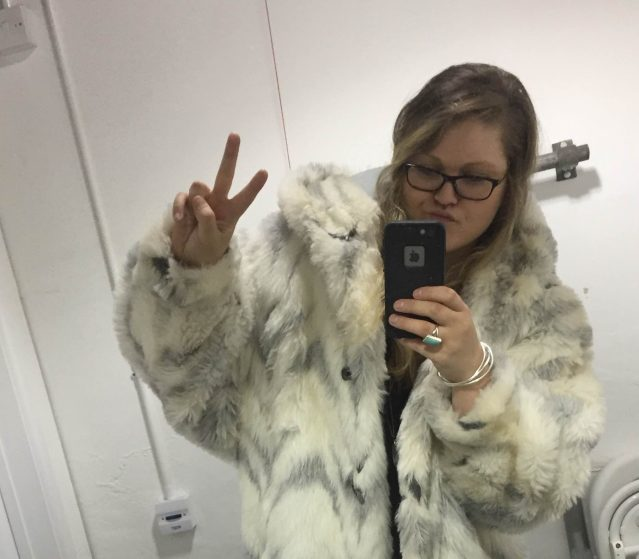 Fun in faux fur at the RE:SO event!