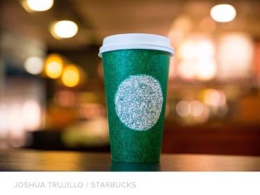 Starbucks' annual Holiday cup PR stunt2016