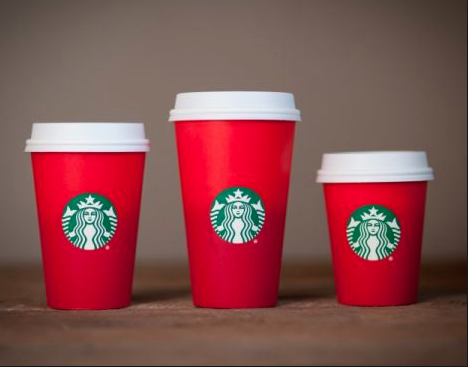 Starbuck's 2015 holiday cup