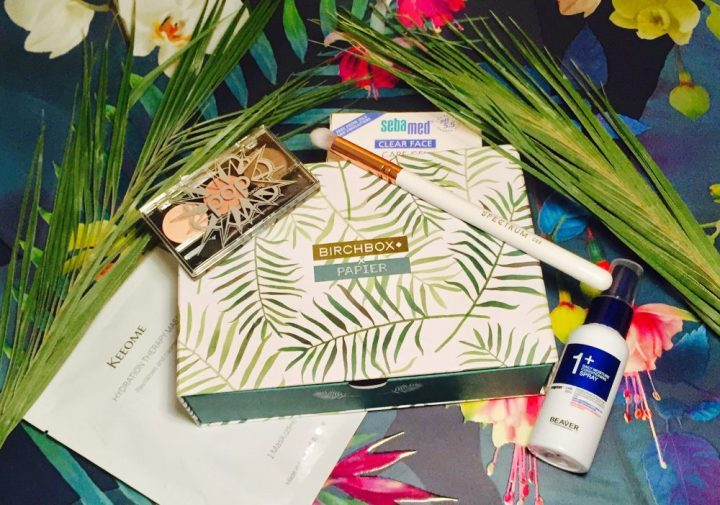 Birchbox February collaborates with Papier