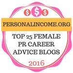 Personal Income's Top 25 Female PR Career Advice Bloggers