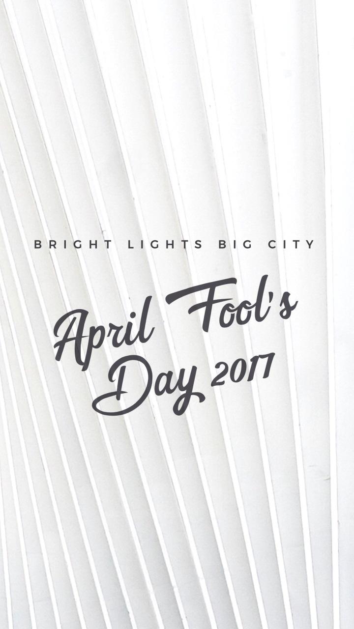 April Fool's Day 2017 roundup!