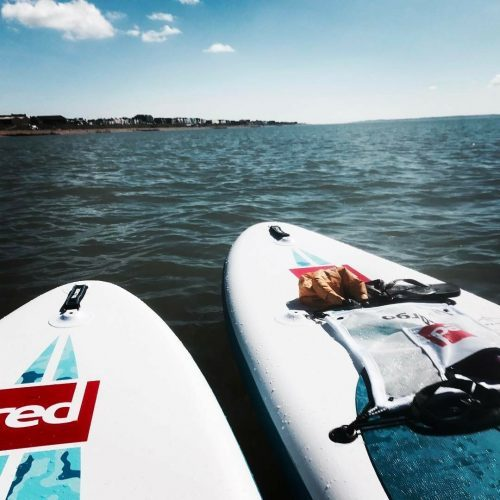Spring paddle boarding adventures on the South Coast ofEngland