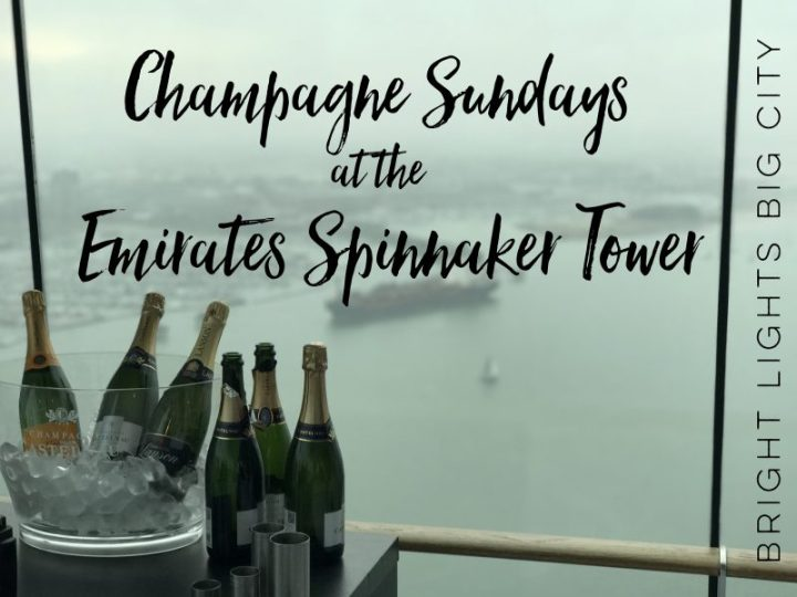 Pop up the Spinnaker Tower for Champagne Sundays