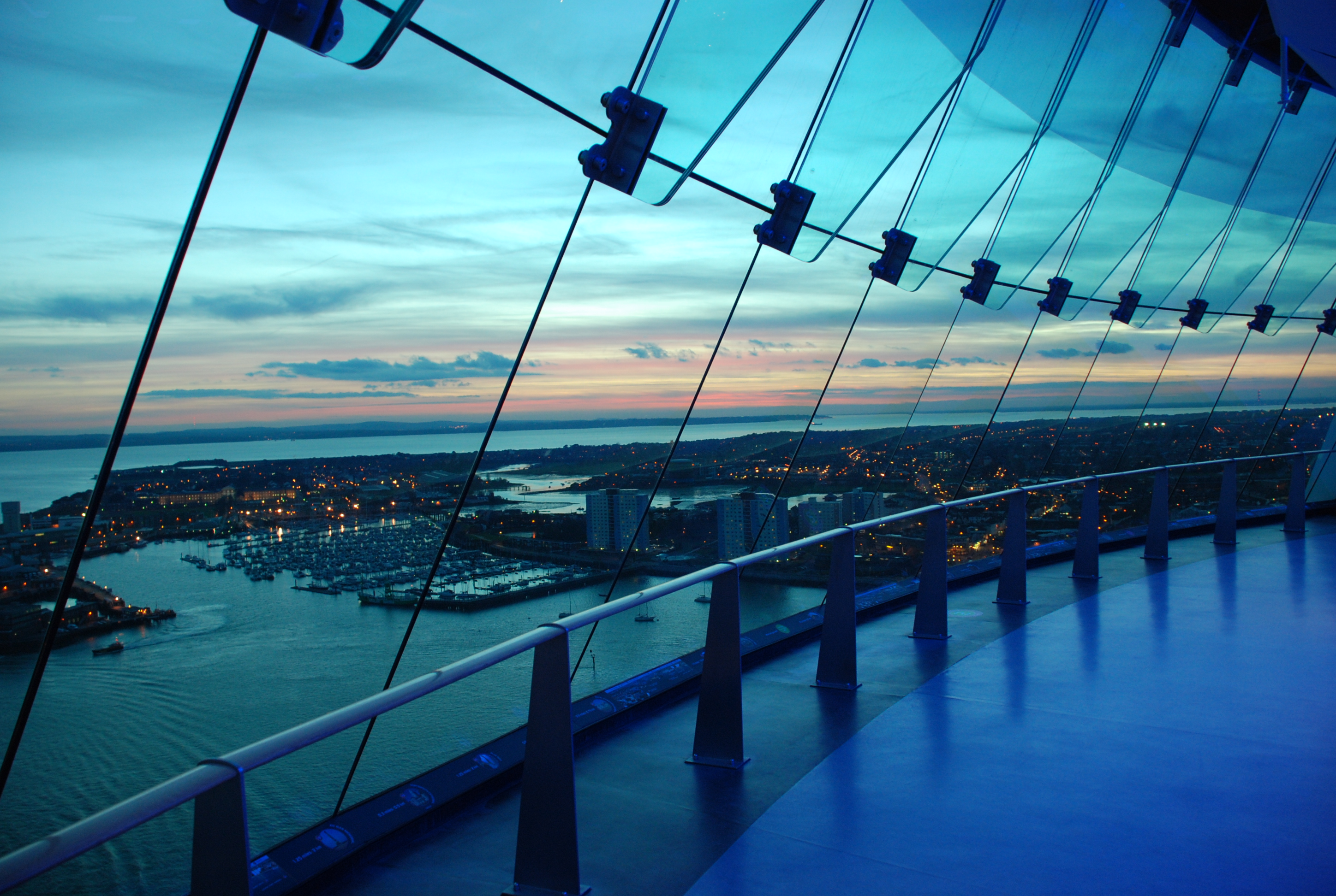 Pop Up The Spinnaker Tower For Champagne Sundays Rebecca