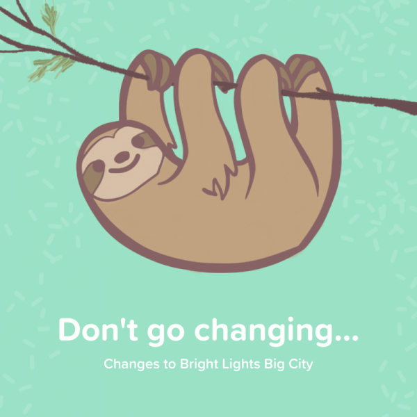Don't go changing Sloth