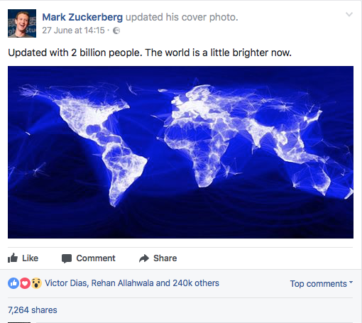 Facebook reaches 2 billion users but, what next?