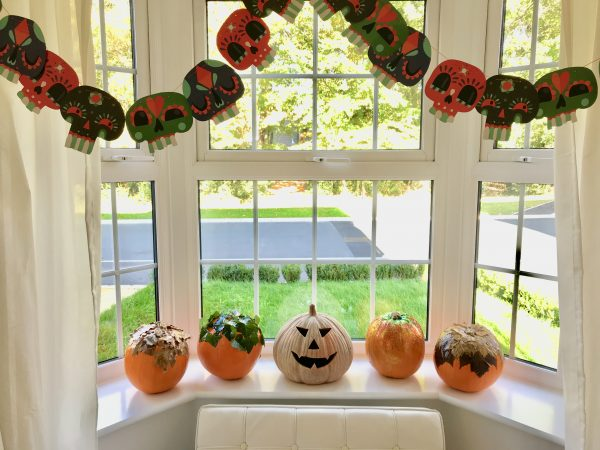 How to make foliage pumpkins for Halloween