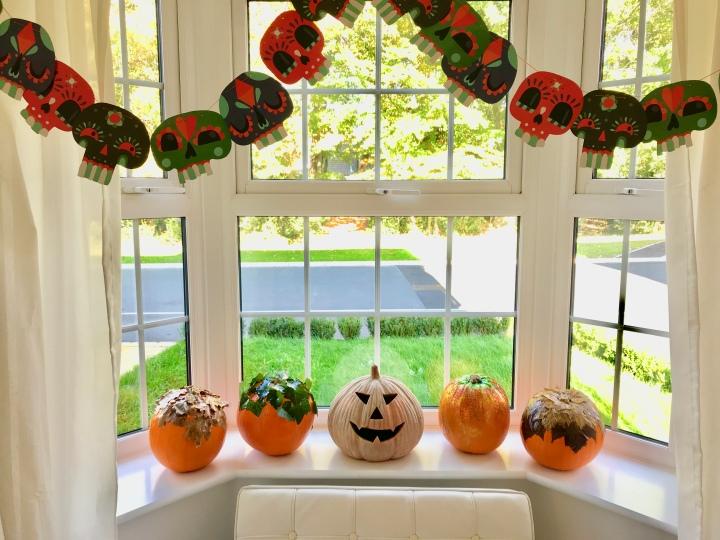 How to make foliage pumpkins forHalloween