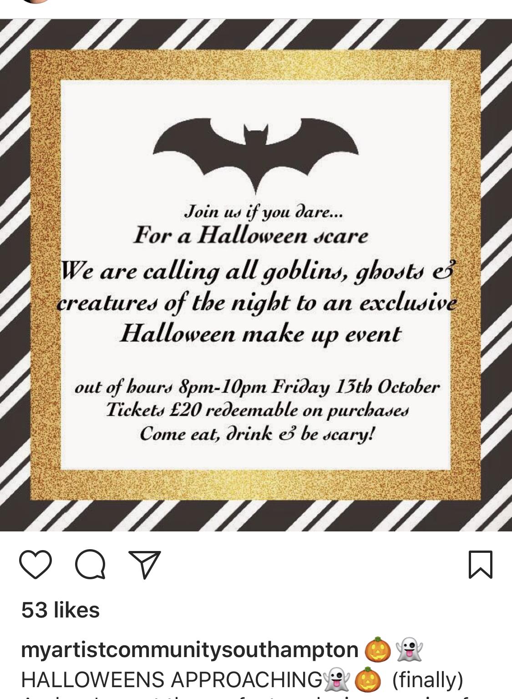 halloween with mac cosmetics – rebecca henderson
