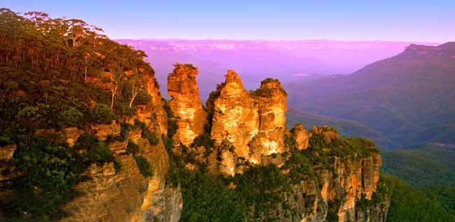 I'm off to the Blue Mountains today!