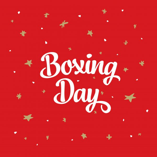 Happy Boxing Day 2017 fromSydney!