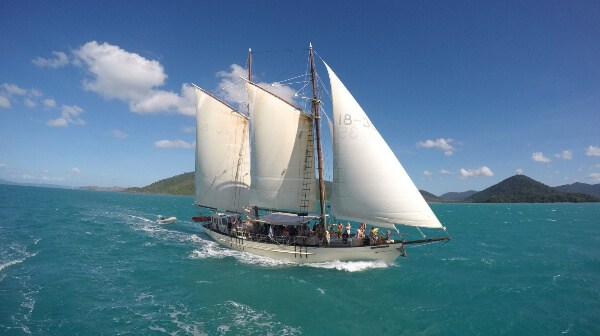 Exploring the Great Barrier Reef on the DerwentHunter