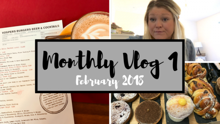 Monthly Vlog #1 | FEB 2018 | FIRST VLOG | Bright Lights Big City