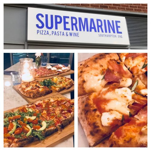 Wood fired pizza at Supermarine *NOW CLOSED*