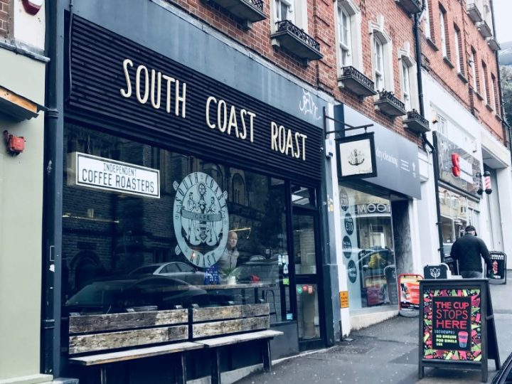 Brunch at South Coast Roast in Bournemouth