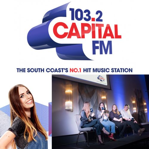 On the panel at Emma's Beautique hosted by CapitalFM
