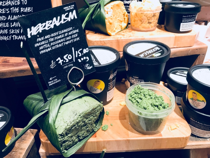 Herbalism fresh face mask from Lush