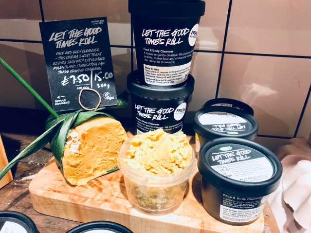 Let the Good Times Roll fresh face mask from Lush
