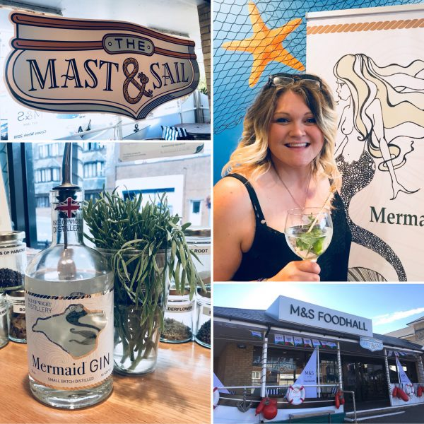 Let Lendy Cowes Week 2018 be GIN! An evening at Marks and Spencer's new pop up Mast & Sail bar