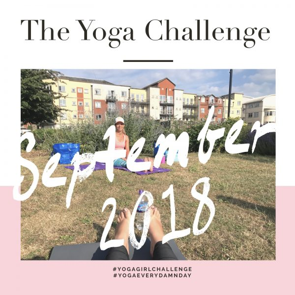 The September 2018 Yoga Challenge