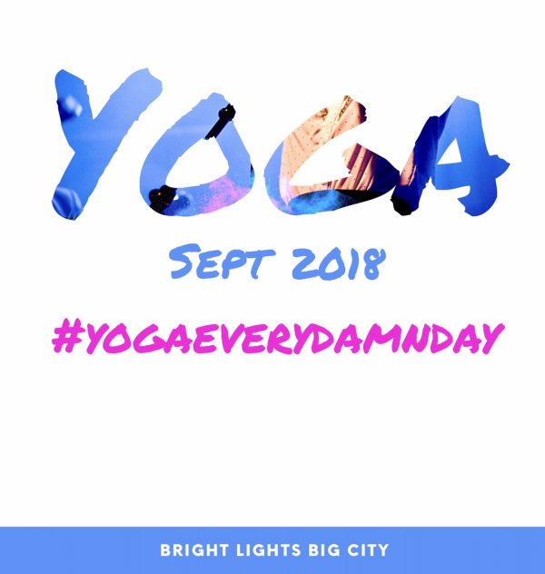 The September 2018 Yoga Challenge starts today!