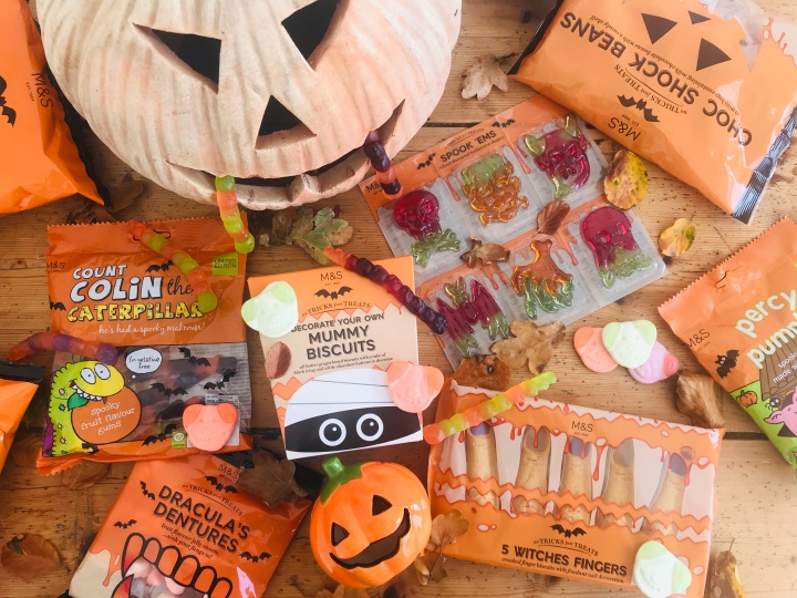 Halloween treats from Marks and Spencer