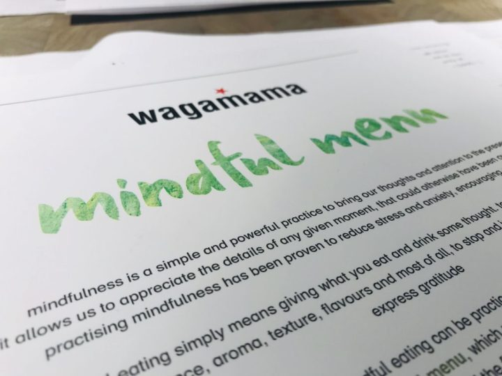 An evening of mindfulness with Wagamama at Gunwharf Quays