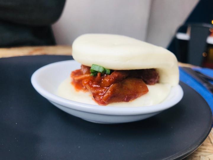 jack fruit bao bun