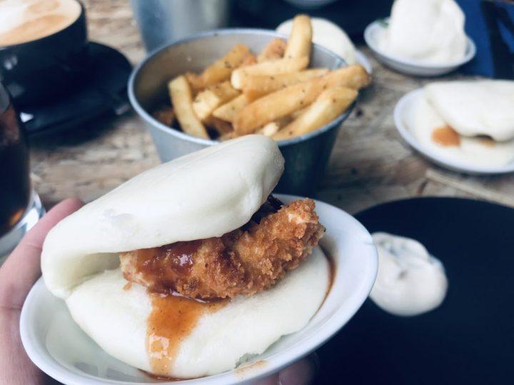 chicken bao bun