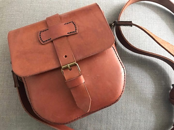 Making a leather satchel with The Makers Guild