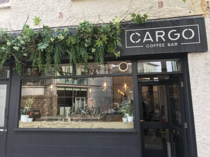 Breakfast at Cargo Coffee Bar in Jersey