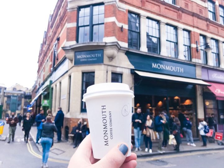Monmouth Coffee at Borough Market