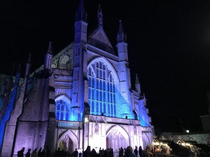 An evening at Winchester Christmas Market2019