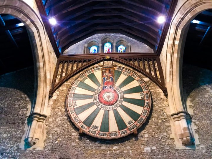 King Arthur's Round Table in The Great Hall,Winchester