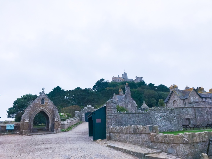 The village by the harbour at the bottom of St. Michael's Mount.