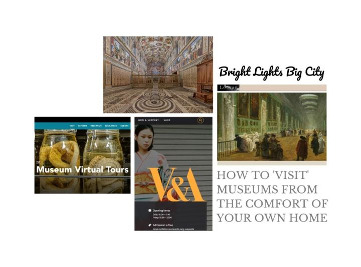 How to 'visit' museums from the comfort of your own home